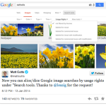Google Image Search Filter by Copyright License